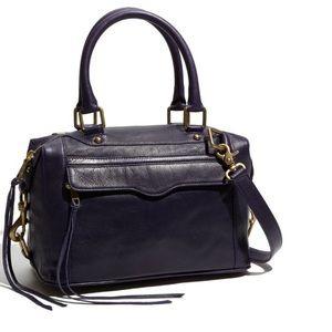 Rebecca Minkoff leather black MAB shoulder bag